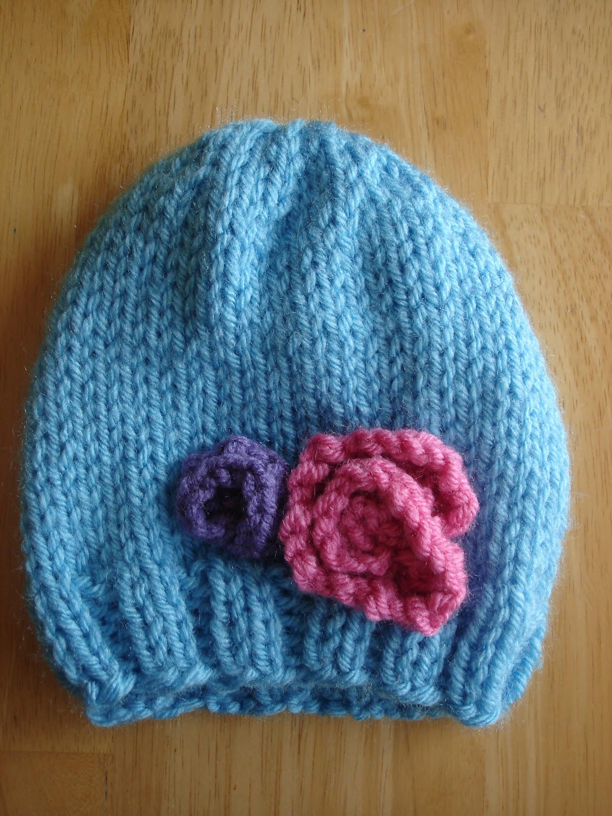 Fiber flux free knitting pattern baby in bloom hats free knitting pattern baby in bloom hats bankloansurffo Gallery