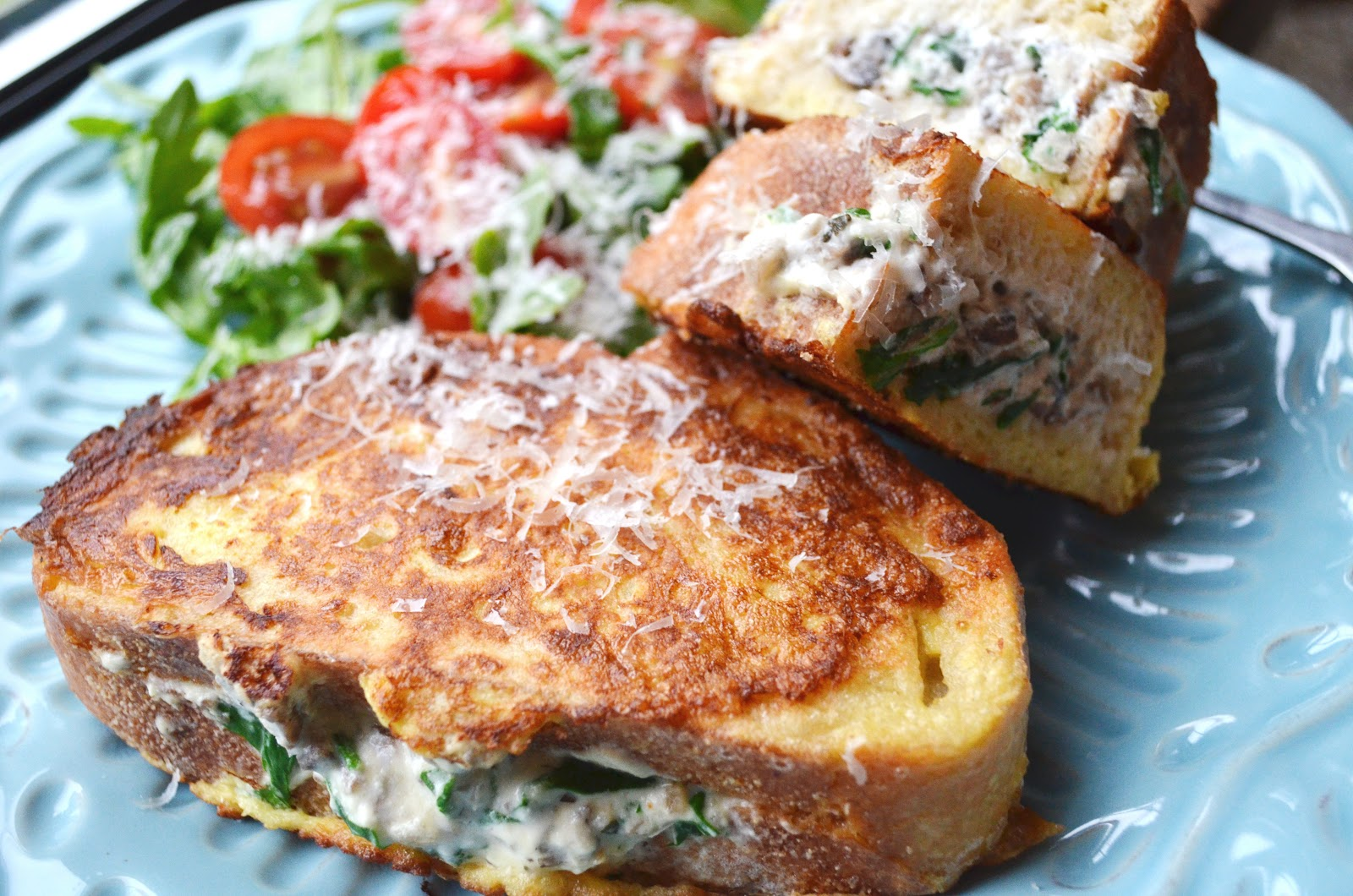 iron stef: savory stuffed french toast