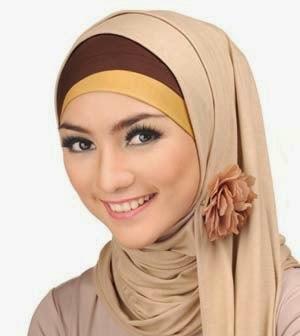 Cara Memakai Kerudung Muslimah