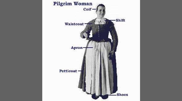 Ebl how did the pilgrims really dress and talk