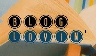 Book-themed Bloglovin Button