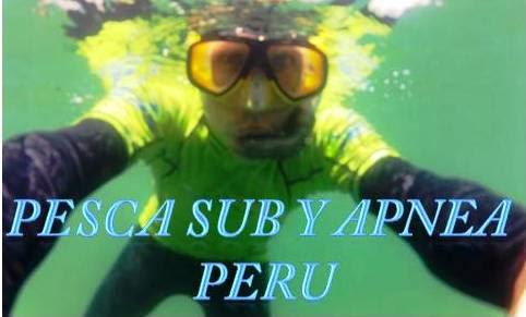 Pesca sub y Apnea Peru