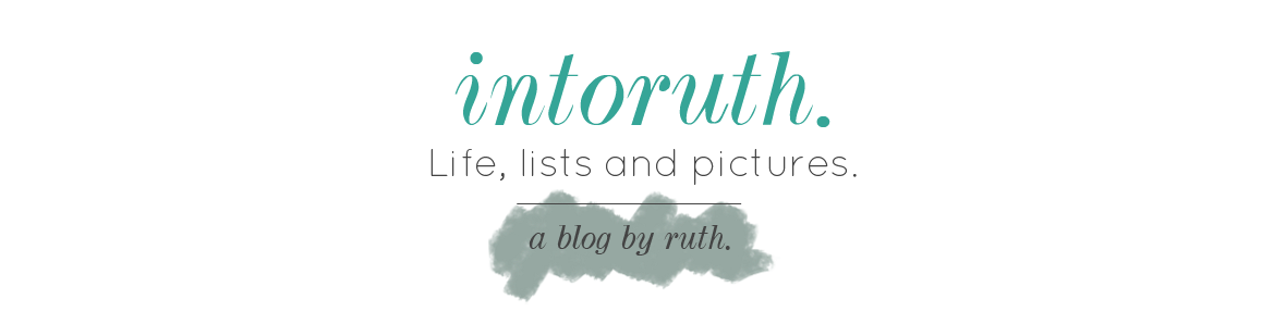 intoruth | a UK lifestyle blog