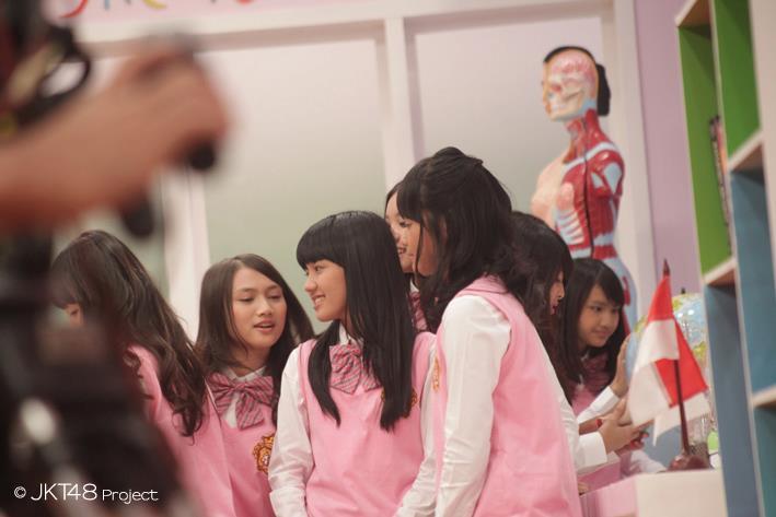 Melody Ochi at JKT48 school episode1