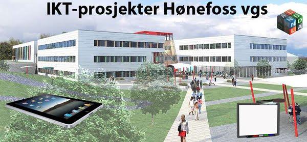 IKT-prosjekter Hønefoss vgs