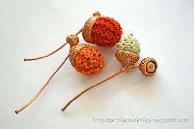 желуди, knitting
