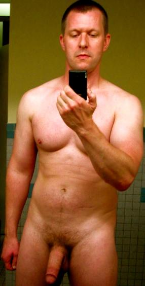 Jerking off at the gym