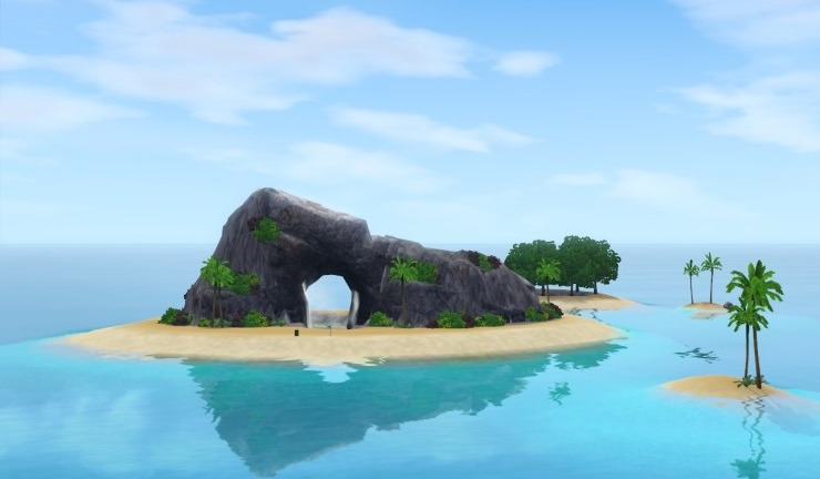 My Sims 3 Blog Sunlit Castaway Island By Back Mee