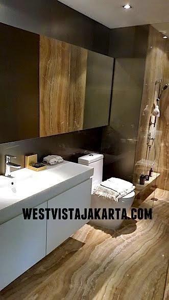 Interior Design Bathroom West Vista Jakarta Barat