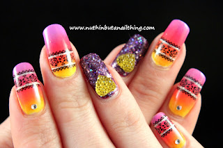 Barry M Yellow,  Sinful Colors Timbleberry and China Glaze It's Shore Bright