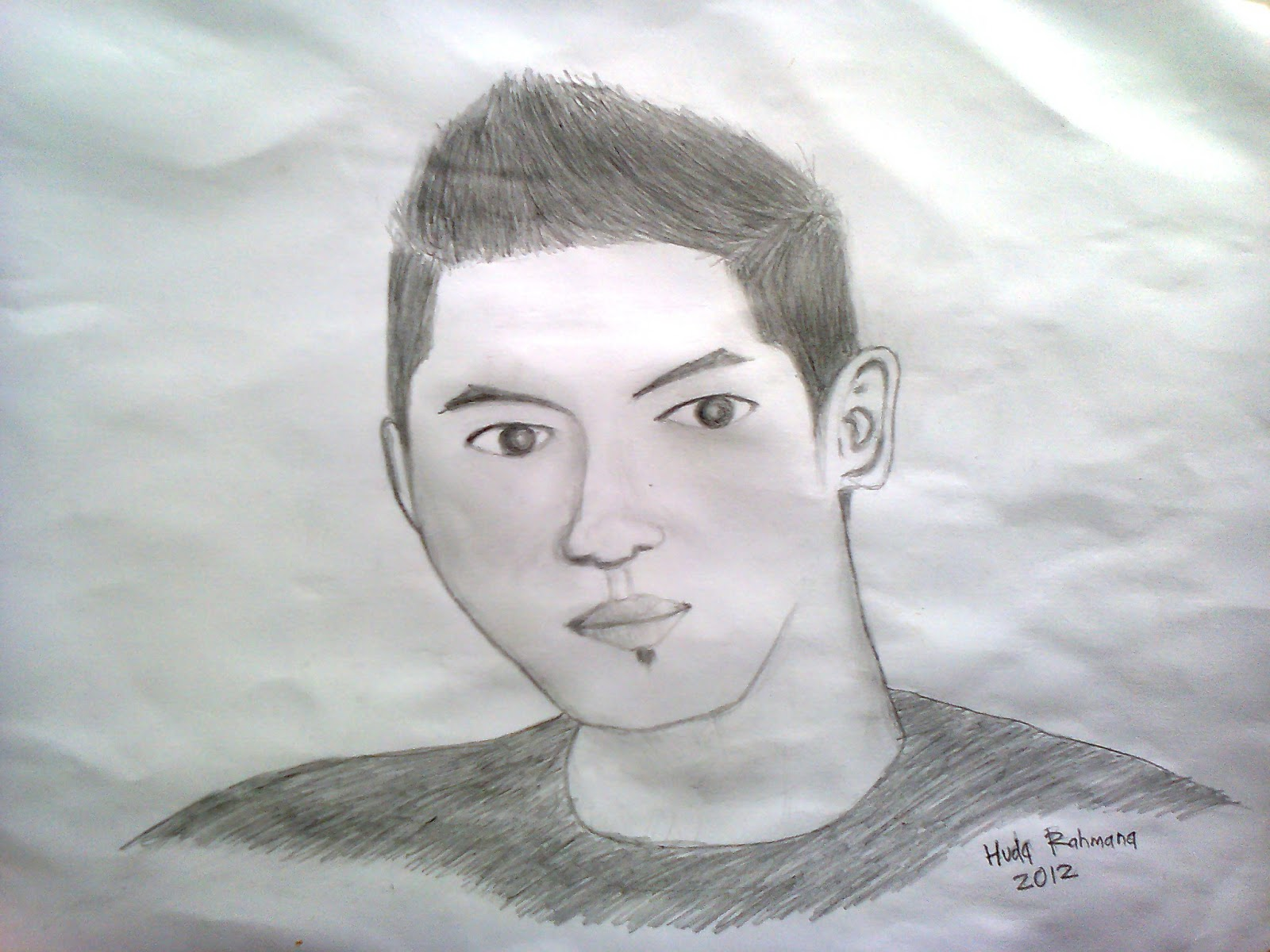 Membuat Gambar Wajah Sendiri dengan Pensil ~ Obat Nyamuk