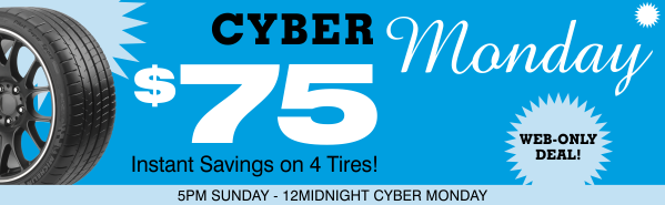 Cyber Monday Web-Only Deal