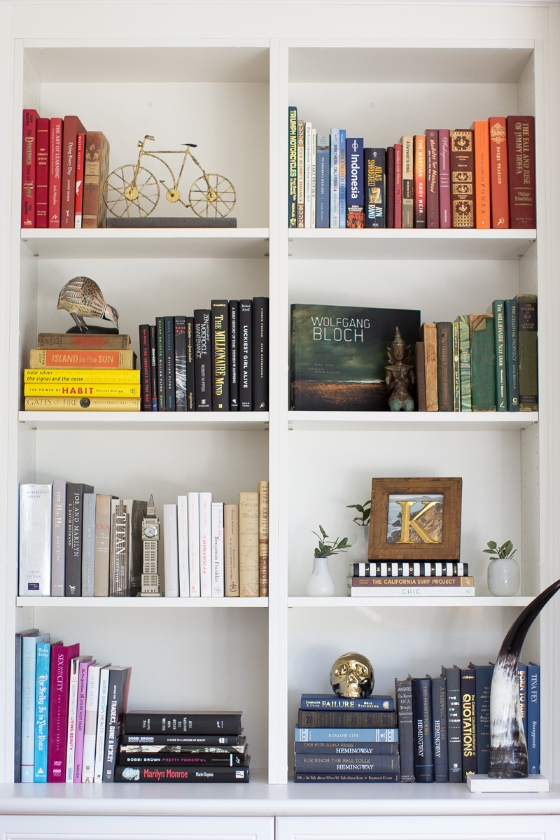Top 5 Bookshelf Styling Tips