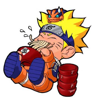 Naruto on Naruto Uzumaki Chibi