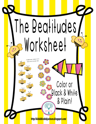 Printables Beatitudes Worksheet bible fun for kids the beatitudes more printables these are basic worksheets students will draw a line from beginning of each verse left side to correct ending of