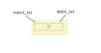 Membuat menit dan detik di adobe flash actionscript