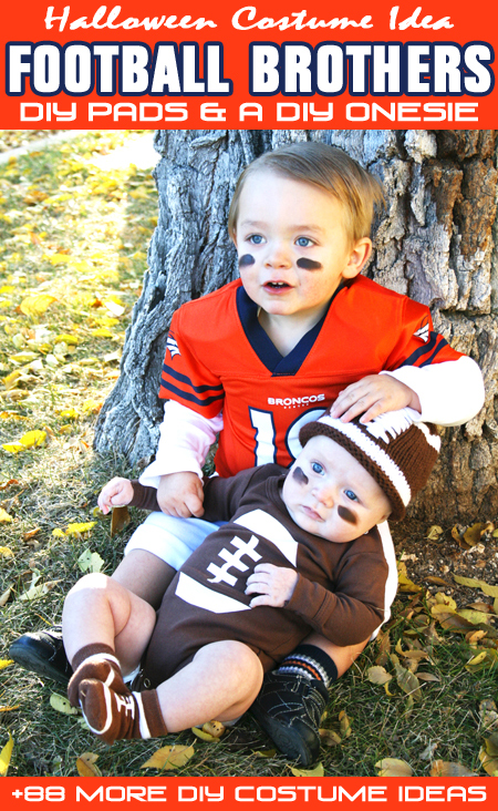 Seasonal style football brothers halloween costume 88 more today i am teaming up with jamie dorobek and her handmade halloween costume site really awesome costumes to bring you 88 diy halloween costumes for solutioingenieria Image collections
