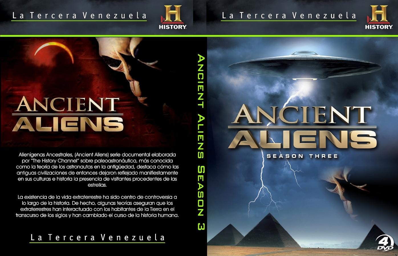 Alienigenas Ancestrales Temporada 3 Capitulo 1 Mega