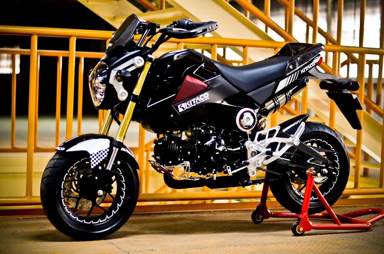 Honda MSX 125 Urban Monster