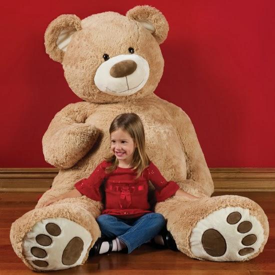Gambar boneka teddy bear besar