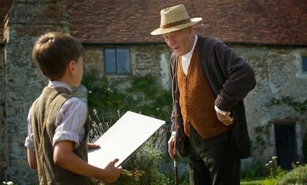 """Ian McKellen as an elderly Sherlock Holmes in """"Mr. Holmes"""""""