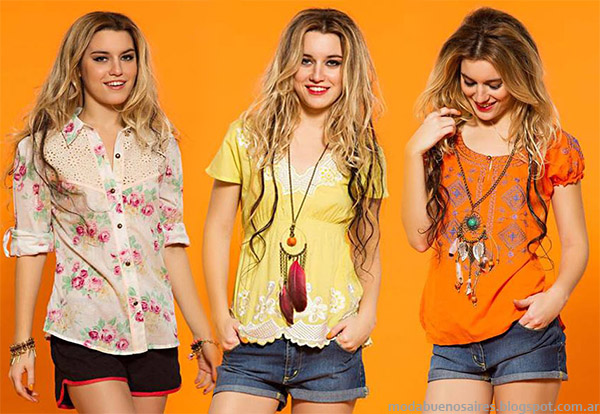 Moda primavera verano 2015. Shorts Sophya primavera verano 2015 ropa de mujer.