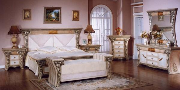 set good and nice deco bedroom set wedding paint is