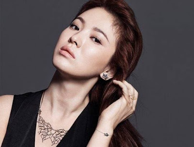 Song Hye Kyo J.ESTINA Fall Winter 2015