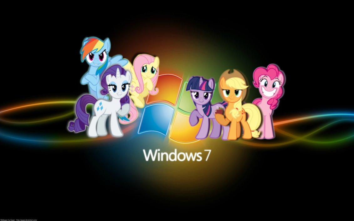And This Is The Last One Of All Main Six Gathered Around Windows 7 Sign Hope Yall Liked Them They Help