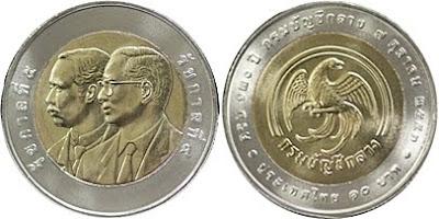 Bimetallic coin 120 years of Comptroller General's Department