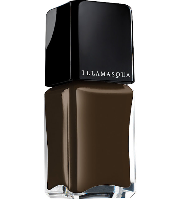 illamasqua brown nail polish,
