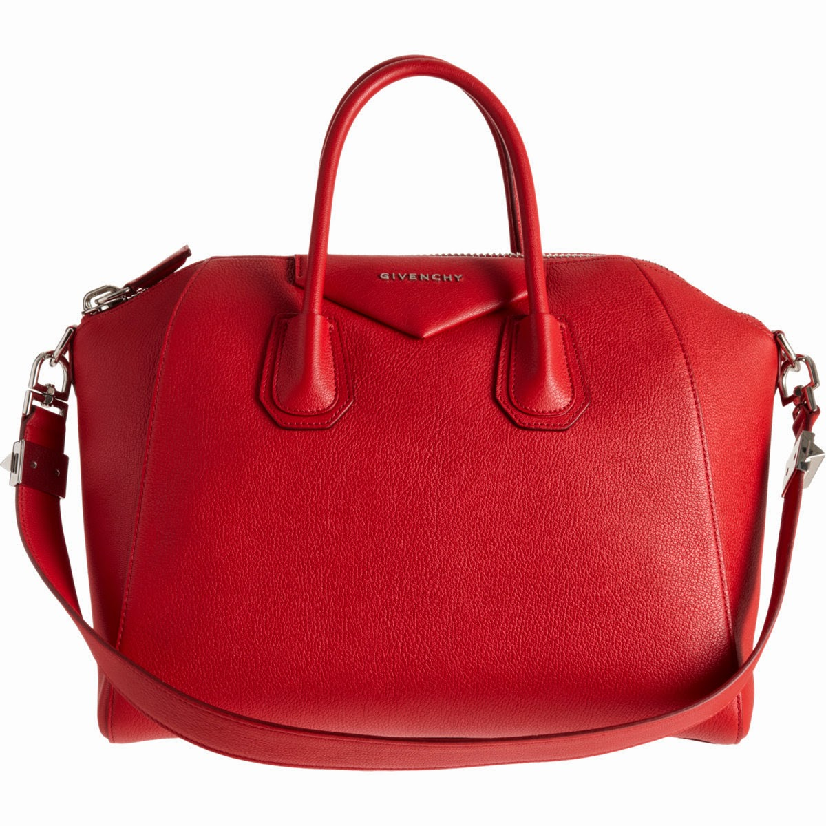 trend alert - red bags, givenchy antigona bag in red
