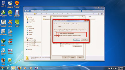 how to unhide files and folders in windows 7 step11