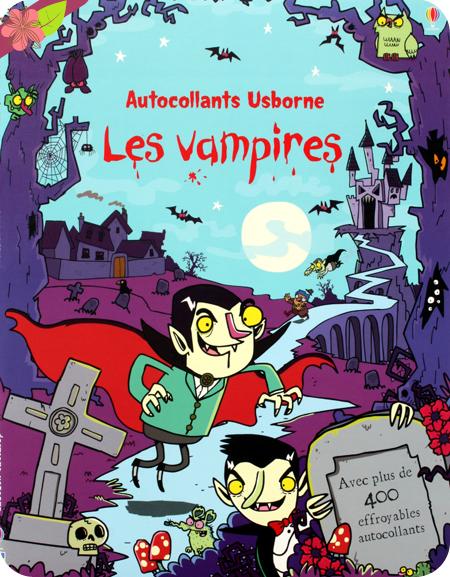 Autocollants Usborne : Les vampires