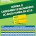 Calendário de pagamento do Bolsa Família do ano de 2015