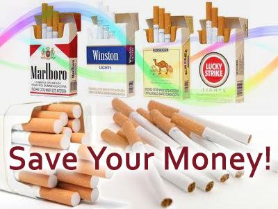 Bond cigarettes in UK