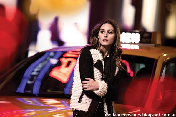 Sacos y camperas de mujer 2014 moda invierno 2014