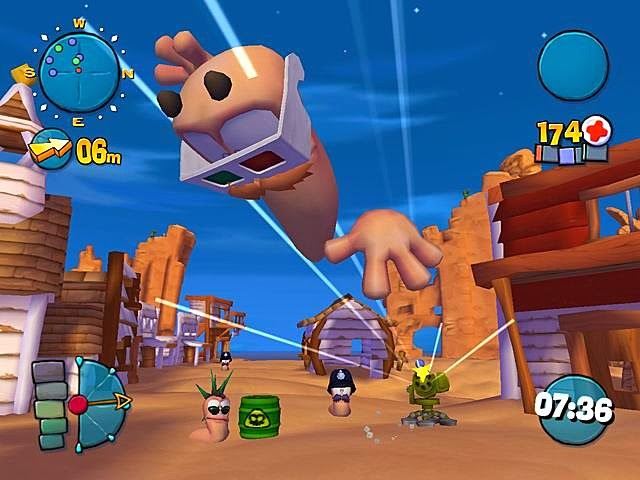 Download Game Worm 4 Mayhem
