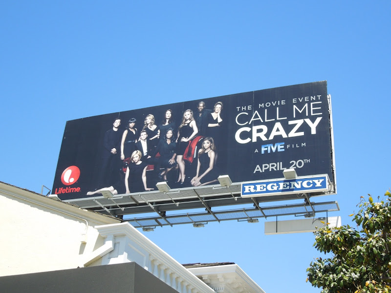 Call Me Crazy Lifetime TV movie billboard