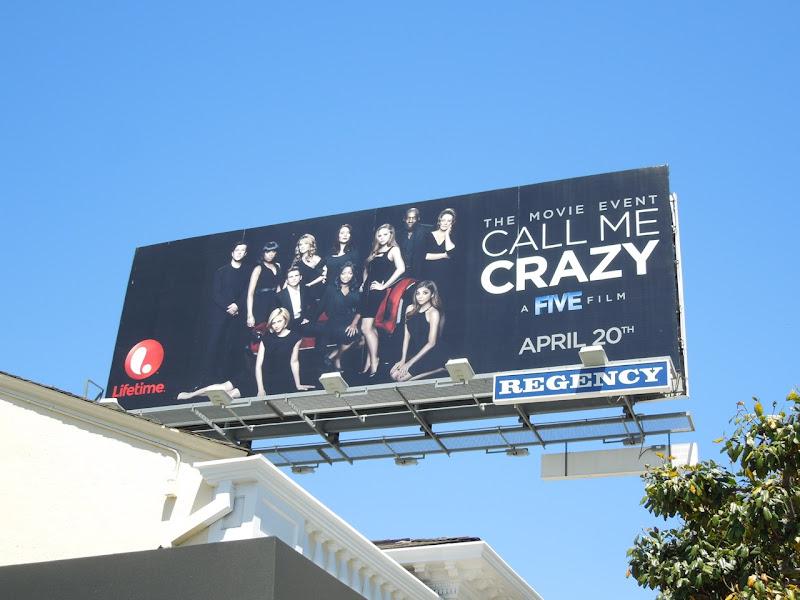 Call Me Crazy Lifetime TV movie billboard
