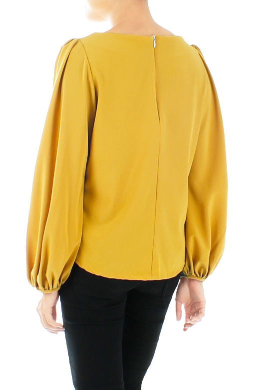 Fiesta Long Sleeve Blouse in Yellow Gold