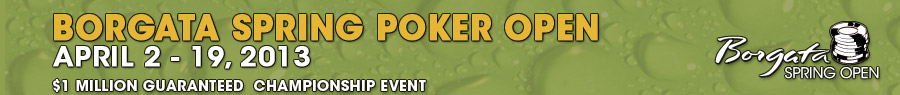 Borgata Spring Poker Open 2013