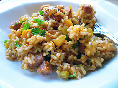 Spicy Chicken Jambalaya