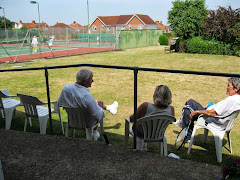 Rusty Racket players at Minehead Tennis Club