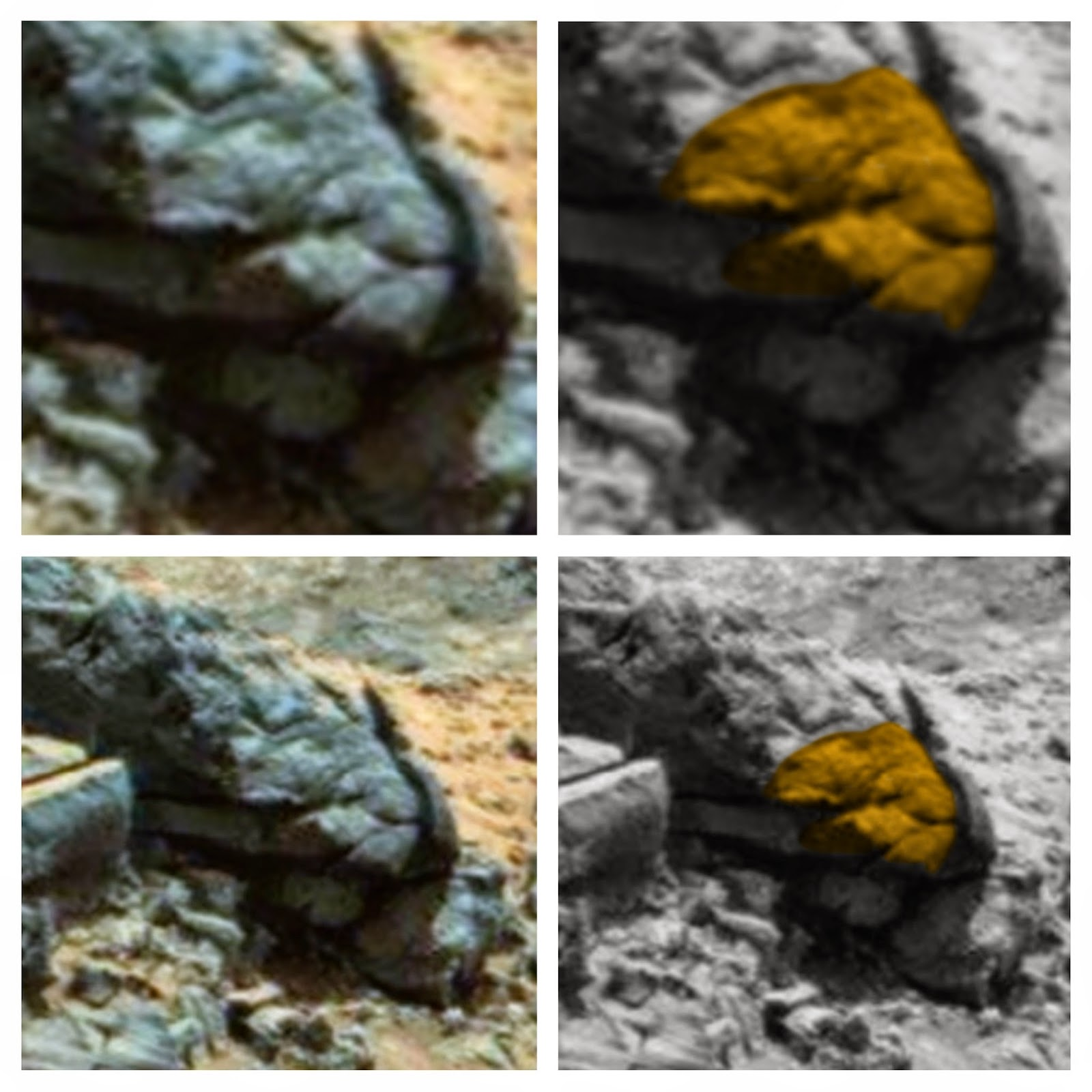 Ufo sightings daily ancient aliens on mars carved