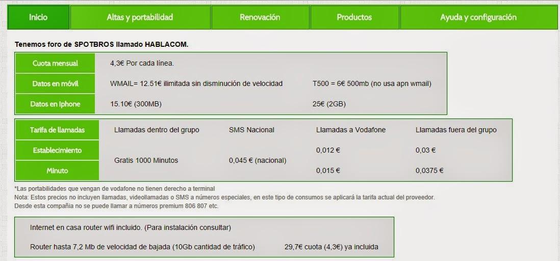 Internet Ilimitado 3g hablacom