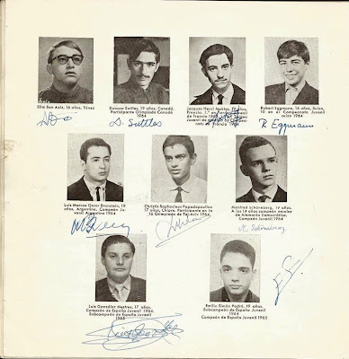 Jugadores participantes en el VIII Campeonato Mundial Juvenil de Ajedrez 1965 (3)