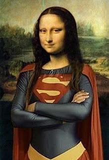 supergirl mona lisa