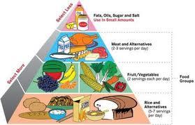 Balanced Diet Food Pyramid