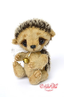 Авторский ежик тедди, еж тедди, Künstlerigel, Künstlerteddy, artist hedgehog, teddy hedgehog ooak, jointed hedgehog, mohair hedgehog, teddies with charm, NatalKa Creations